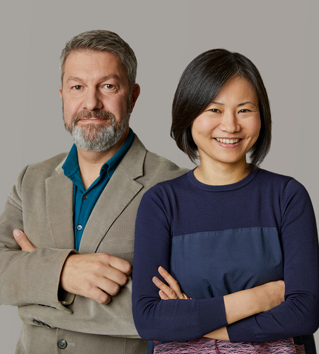 Xiaojin Wu and Nick Dorman