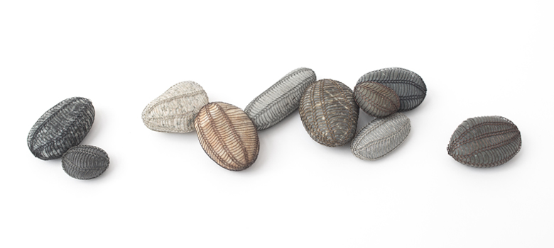 Knitted rocks