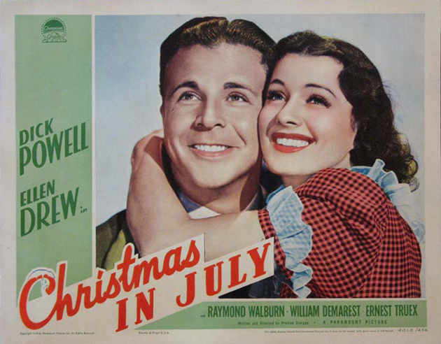 Madcap Genius: Christmas in July