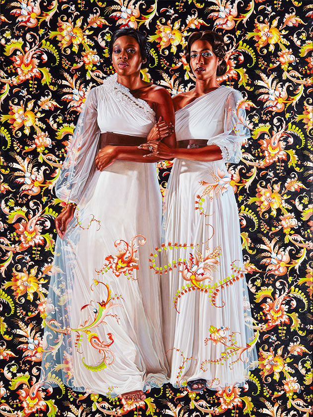 The Two Sisters, 2012, Kehinde Wiley