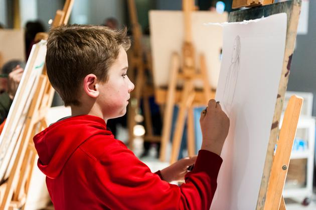 Drop-in art activity