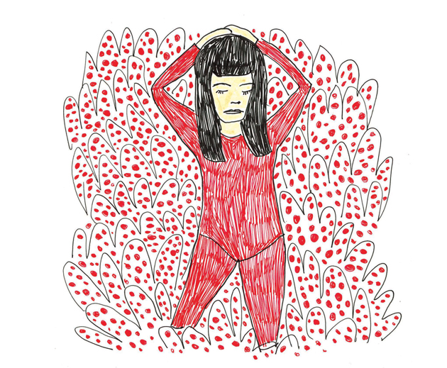 Yayoi Portrait by Regina Schilling