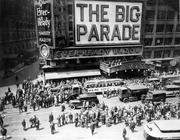 Still from The Big Parade