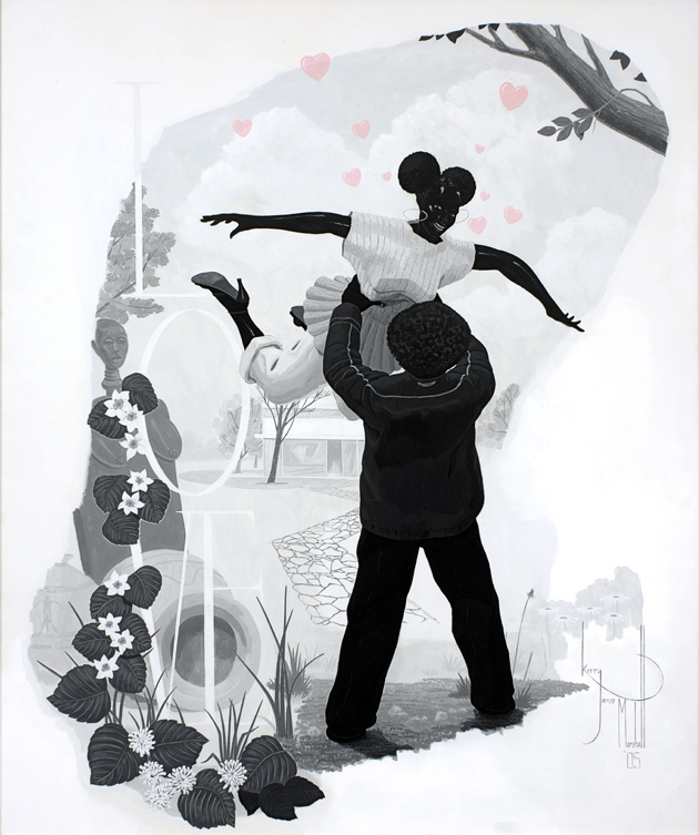 Vignette #2 by Kerry James Marshall