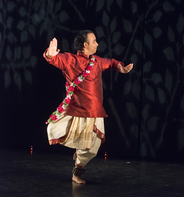 Saturday University photo of a south asian man dancing