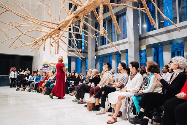 Audience in SAM Brotman Forum