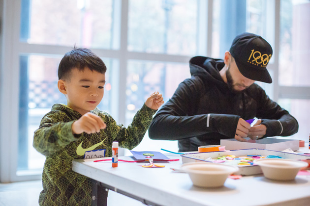FAMILY FUN WORKSHOP: YOUNG ARTISTS