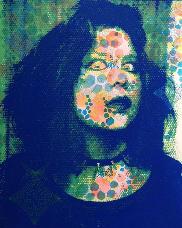 Photo of art entitled Selfie by Kerstin Graudins