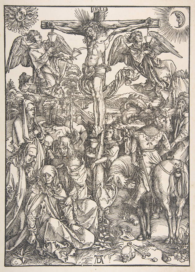 The Crucifixion from The Large Passion, Albrect Dürer, 1497-1500.