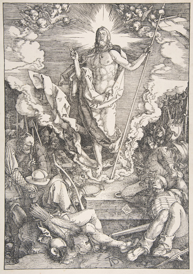 The Resurrection, from The Large Passion (detail), Albrecht Dürer, 1510