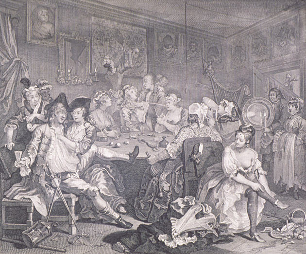 Vanity of Youthful Blood by William Hogarth