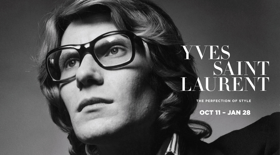 Portrait of Yves Saint Laurent