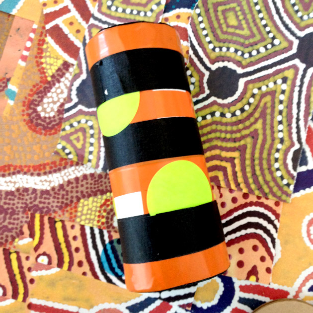 Rainstick Art Activity