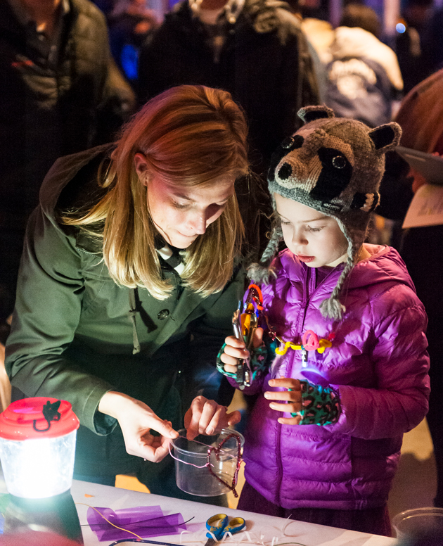 Make art with us at SAM Lights!
